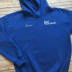 CAMP DALEVILLE ROYAL BLUE SWEATSHIRT WITH PERSONAL/NAME EMBROIDERY